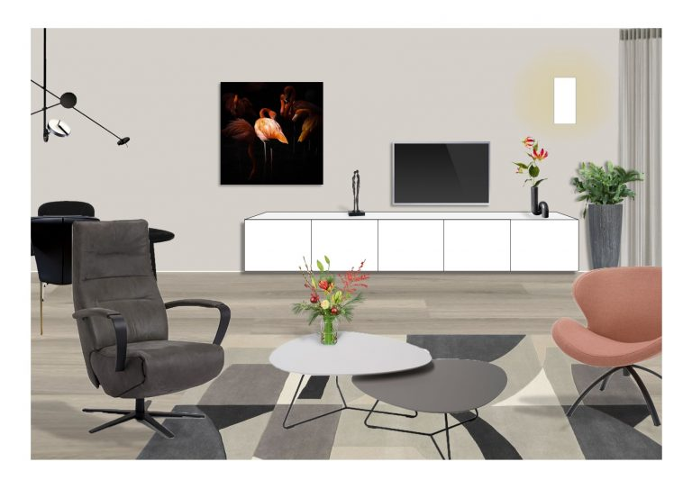 3D presentatie styling MB Homedesign