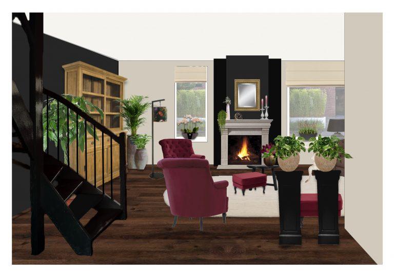 ontwerp landelijk interieur MB Homedesign