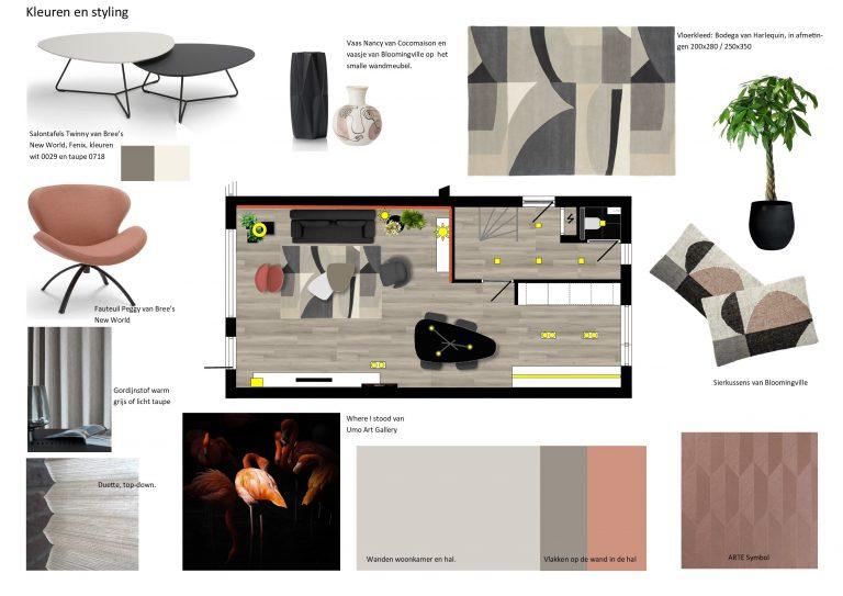 Kleuren en styling MB Homedesign
