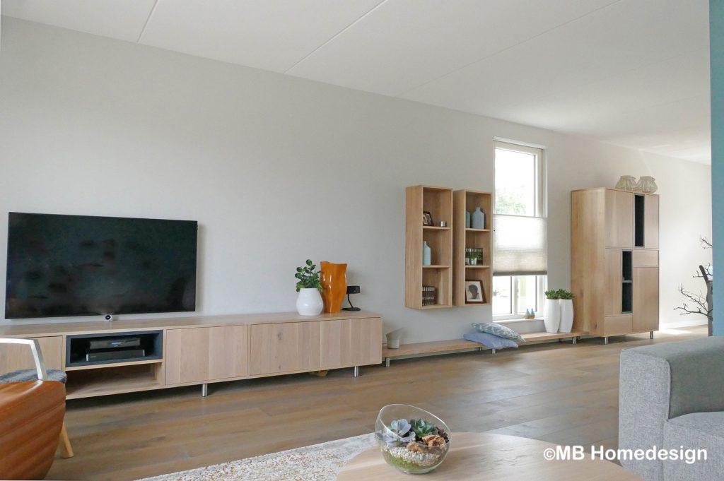 Maatwerk wandmeubel Zevenaar MB Homedesign