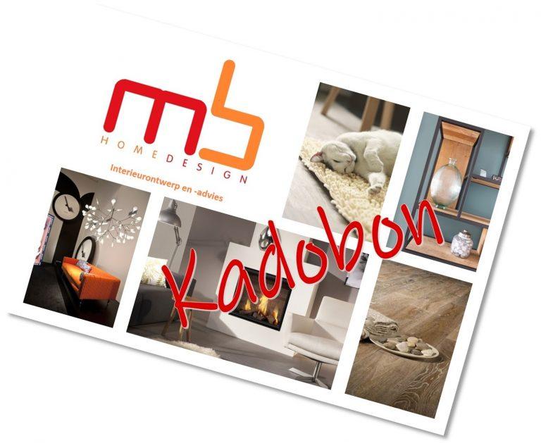 kadobon interieuradvies MB Homedesign