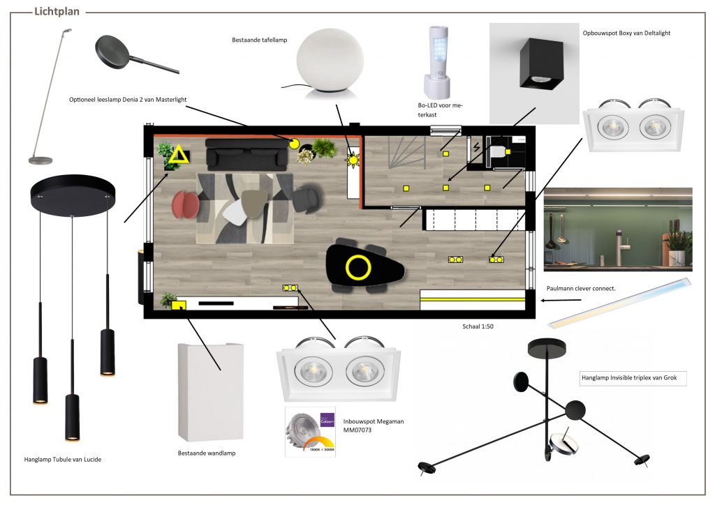lichtplan MB Homedesign