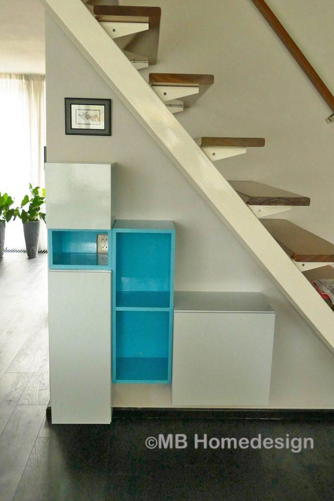 maatwerp trapkast Zevenaar MB Homedesign