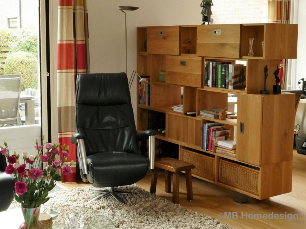ontwerp roomdivider Zevenaar MB Homedesign