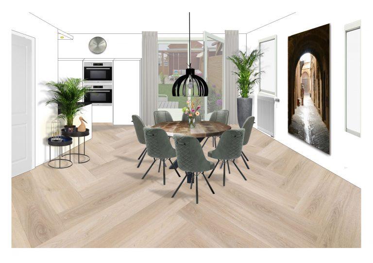 Styling eethoek MB Homedesign